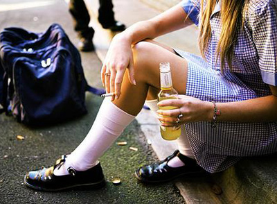 Teen Drinking Causes Irreparable Brain Damage